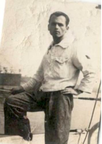 Vittorio Poni sul regio cacciatorpediniere Da noli (1942) - www.lavocedelmarinaio.com