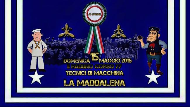 15.5.2015 2° raduno corso 77 tecnici di macchina a La Maddalena  - www.lavocedelmarinaio.com