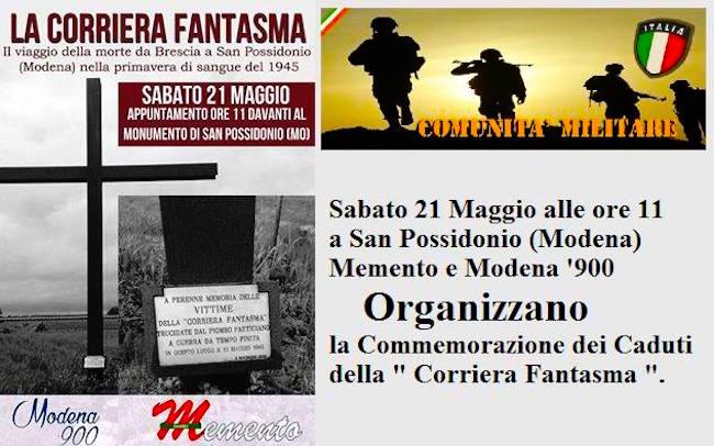 21.5.2016 a Modena (foto comunità militare) - www.lavocedelmarinaio.com