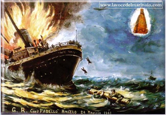 24.5.1941 capitano Padello Angelo - www.lavocedelmarinaio.com