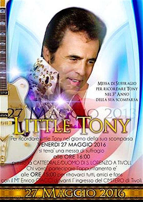 27.5.2016 a Tivoli messa in suffragio a Little Tony - www.lavocedelmarinaio.com