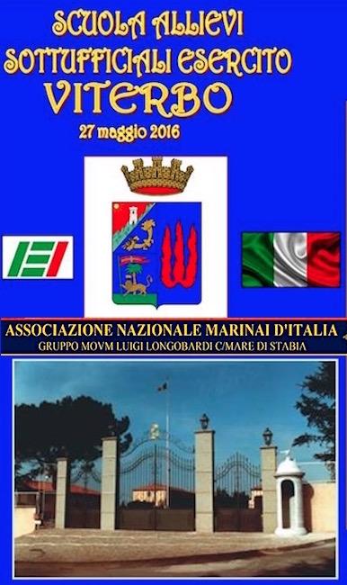 27.5.2016 a Viterbo raduno di a.n.m.i. Stabia - www.lavocedelmarinaio.co,