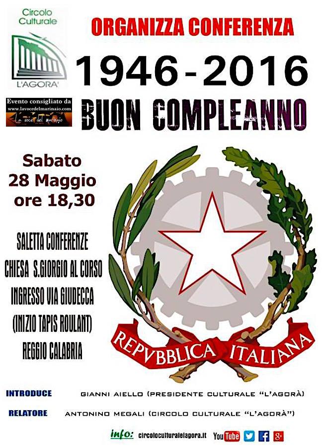 28.5.2016 a Reggio Calabria con associazione l'agora - www.lavocedelmarinaio.com