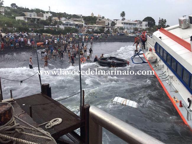 16.6.2016 tragedia siorata a Stromboli - www.lavocedelmarinaio.com
