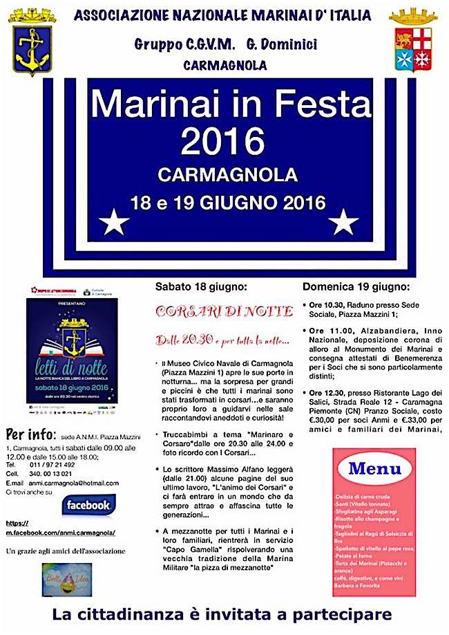 18-19.6.2015 a Carmagnola con i Marinai - www.lavocedelmarinaio.com