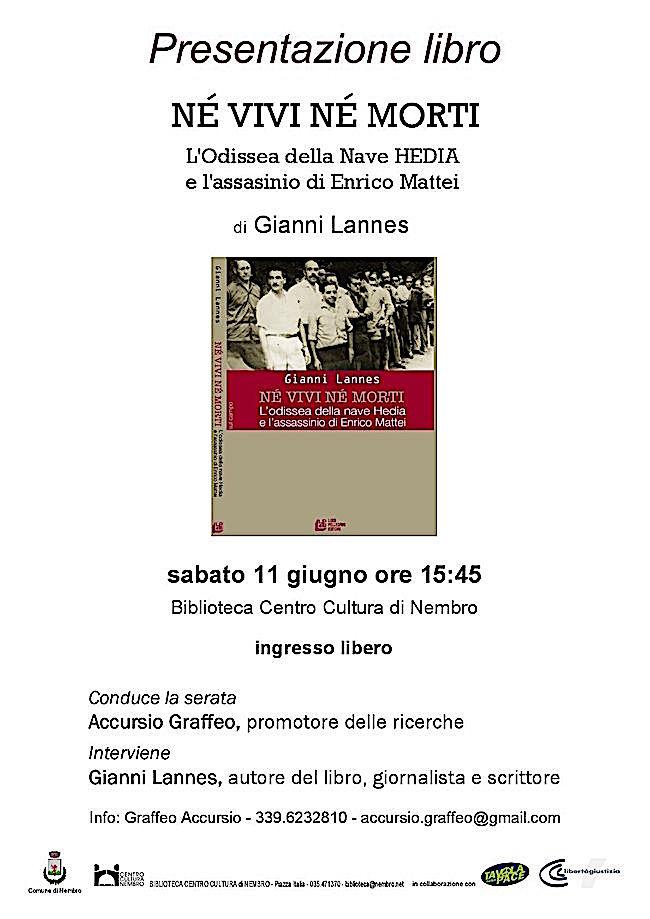 2016.06.11 a Nembro pomeriggio tragedia nave Hedia - www.lavocedelmarinaio.com