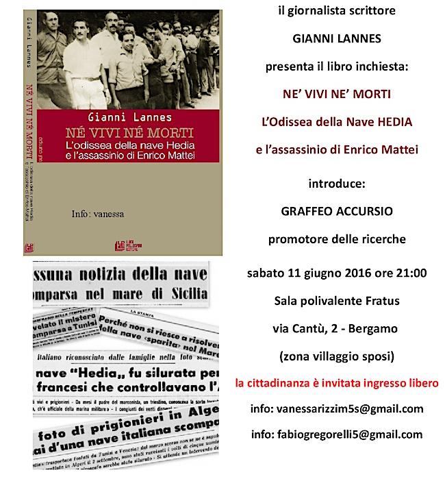 2016.06.11. a Bergamo tragedia neave Hedia - www.lavocedelmarinaio.com