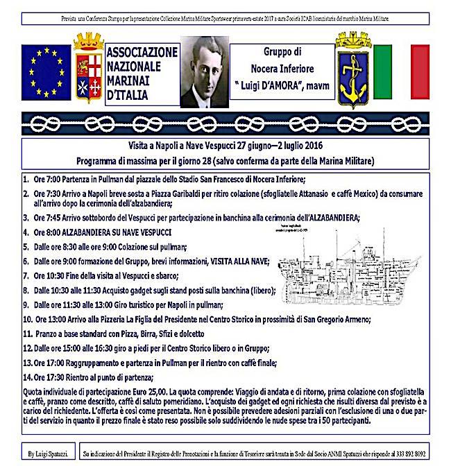 27.6.2016 anmi nocera inferiore - www.lavocedelmarinaio.com