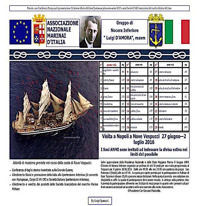 27.6.2016 visita Vespucci - www.lavocedelmarinaio.com