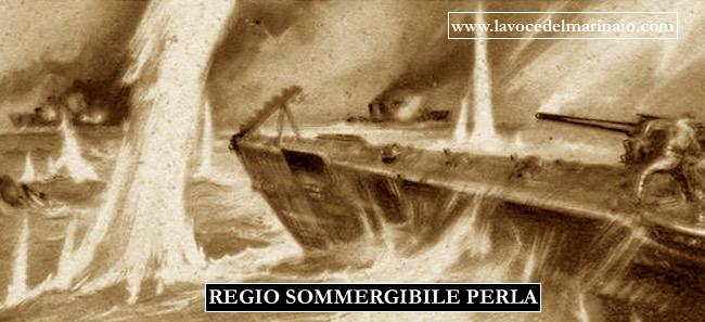 Combattimento del regio sommergibile Perla 27.6.1940 - www.lavocedelmarinaio.com