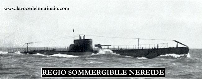 Il sommergibile Nereide (www.lavocedelmarinaio.com)