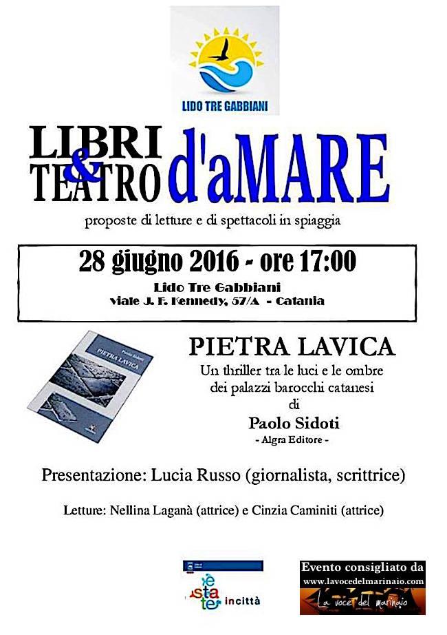 Pietra lavica di Pietro Sidoti - www.lavocedelmarinaio.com