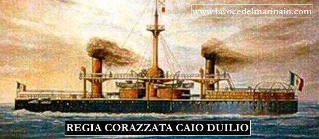 REGIA CORAZZATA CAIO DUILIO - www.lavocedelmarinaio.com