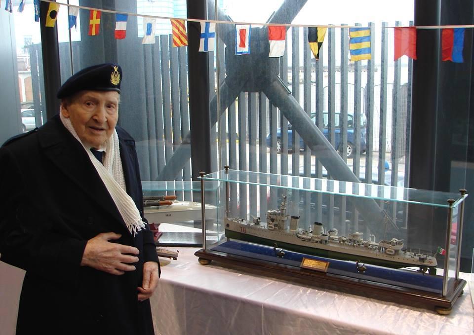Rodolfo Fiaschi nel compimento del suo 100° compleanno