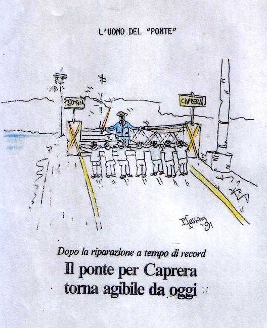 Vignetta del Maresciallo Messina sull'evento