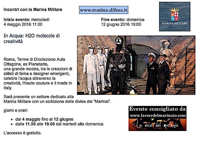 fino al 12.6.2016 a Roma - www.lavocedelmarinaio.com