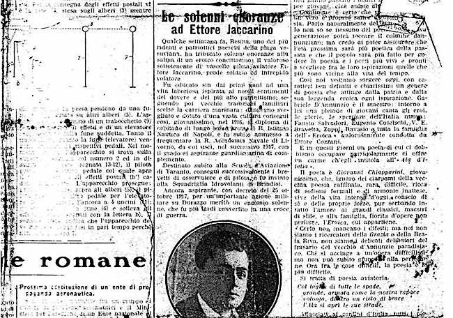 la gazzetta dell'aeronautica (1926) onoranze Iaccarino fpgc famiglia Menotti Iaccarino - www.lavocedelmarinaio.com