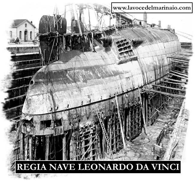 regia nave Leonardo Da Vinci Capovolta - www.lavocedelmarinaio.com