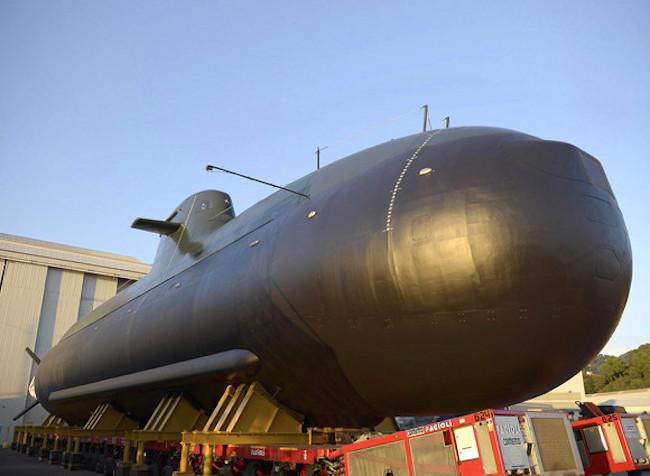 somergibile venuti (foto marina militare)