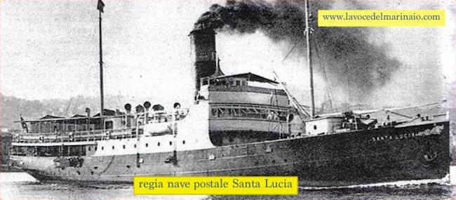 regia nave postale Santa Lucia - www.lavocedelmarinaio.com