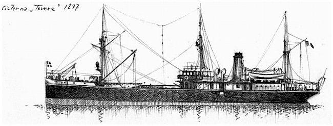 1897 - Regia Cisterna Tevere - foto internet