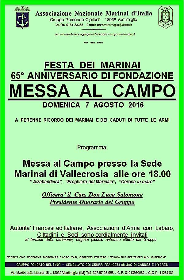 7.8.2016 a Ventimiglia - www.lavocedelmarinaio.com