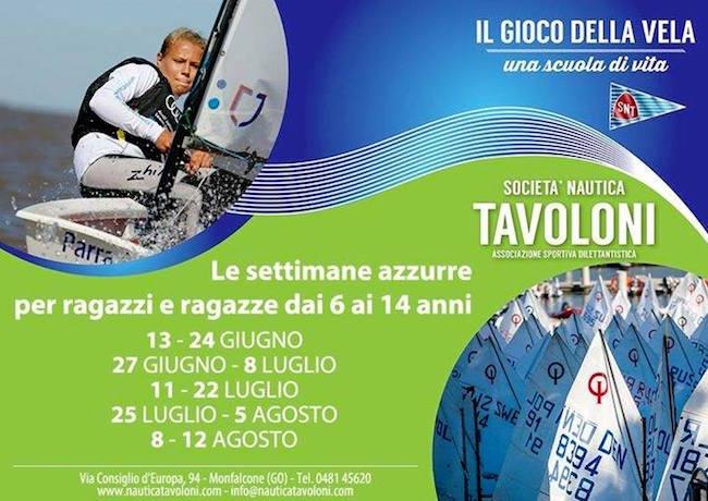 8-12.8.2016 corsi velici società nautica Tavoloni - www.lavocedelmarinaio.com