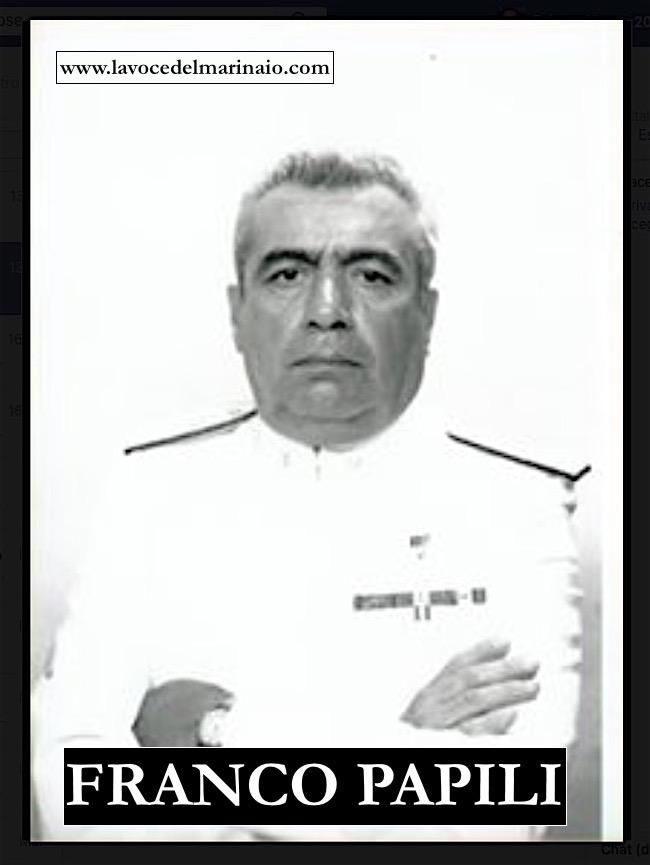 Ammiraglio Franco Papili - www.lavocedelmarinaio.com