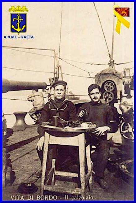 Marinaio calzolaio f.p.g.c. Carlo Di Nitto a www.lavocedelmarinaio.com