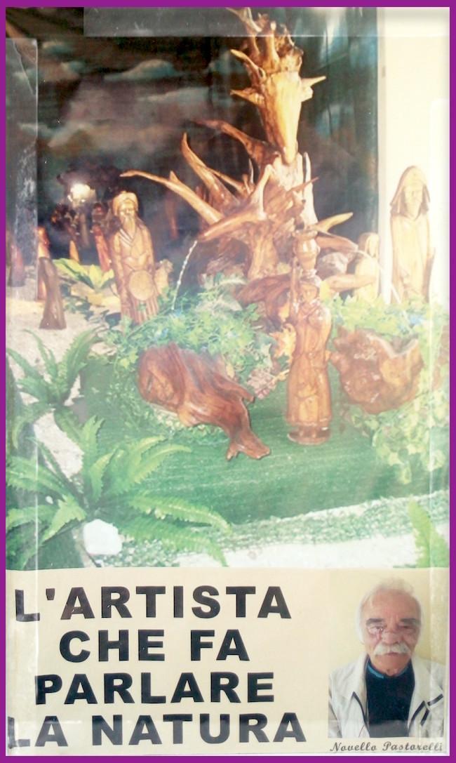 Novello Pastorelli l'artista che fa parlare la natura - www.lavocedelmarinaio.com