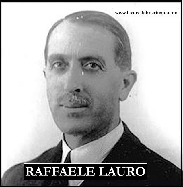 Raffaele Lauro - www.lavocedelmarinaio.com