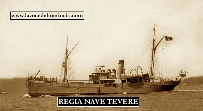 Regia nave tevere - www.lavocedelmarinaio.com