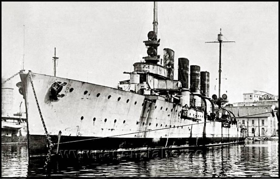 Regio incrociatore Taranto ex Strassburg