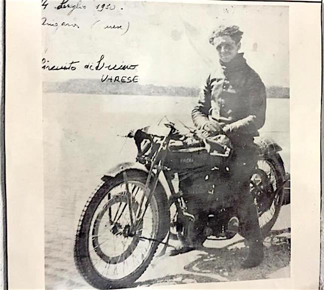 Sottotentente Plinio Galbusera (foto Ivan Giulianotti)