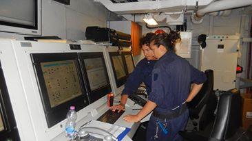 personale a bordo nave Margottini - www.lavocedelmarinaio.com