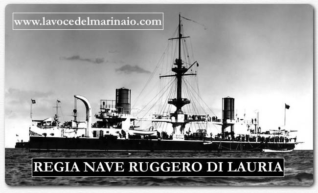 regia corazzata di 1^ classe Ruggero di Lauria - www.lavocedelmarinaio.com