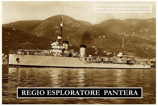 regio esploratore Pantera poi cacciatorpediniere - www.lavocedelmarinaio.com