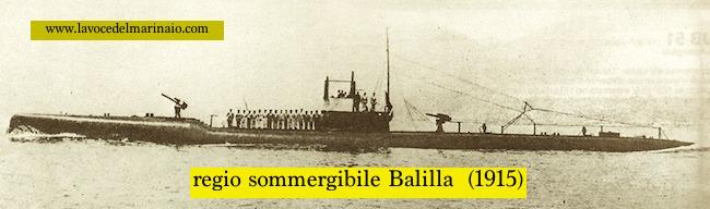 regio sommergibile Balilla - www.lavocedelmarinaio.com