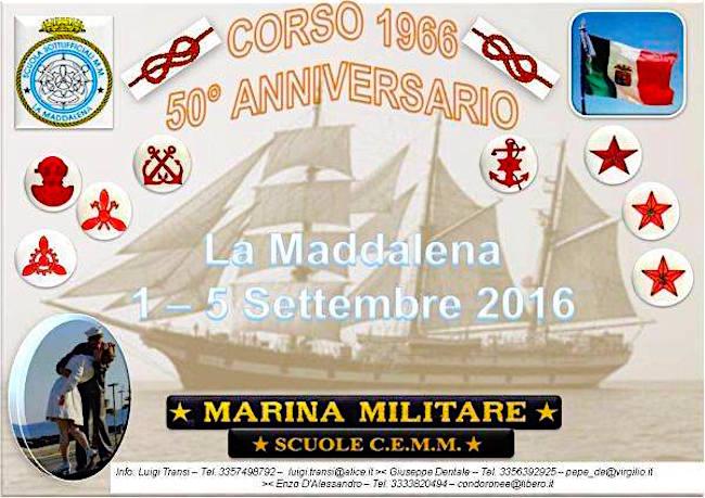 1-5.9.2016 raduno 50° anniversario corso 66 - www.lavocedelmarinaio.com