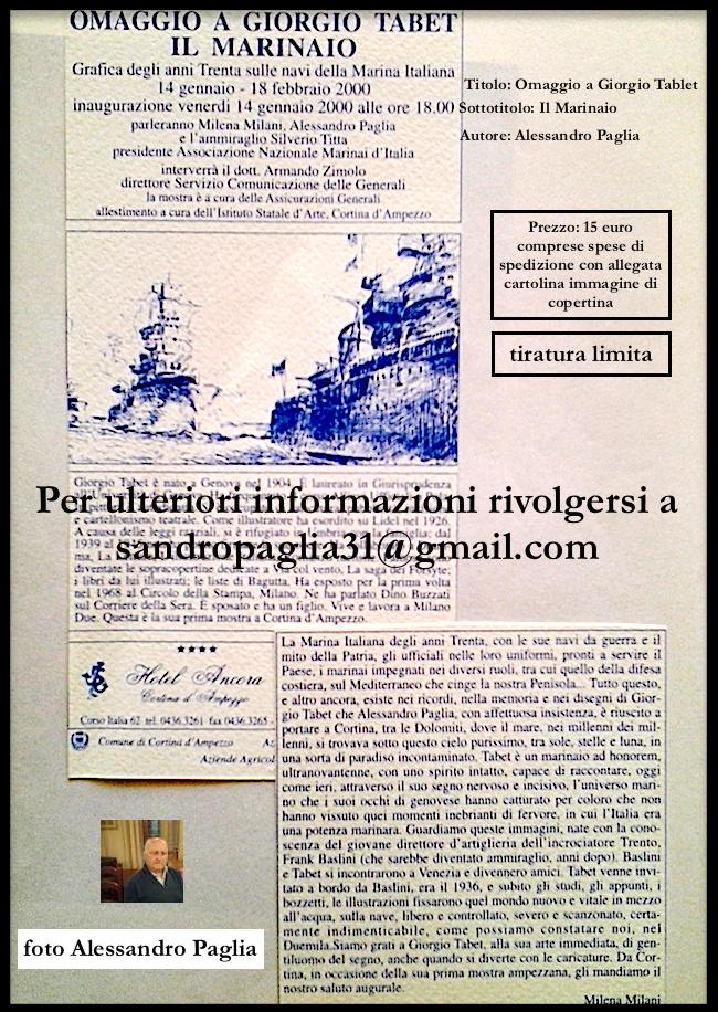 omaggio a giorgio tabet di alessandro paglia - www.lavocedelmarinaio.com