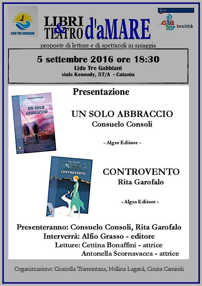 5.9.2016 a Catania Libri e Teatro d'aMare- www.lavocedelmarinaio.com