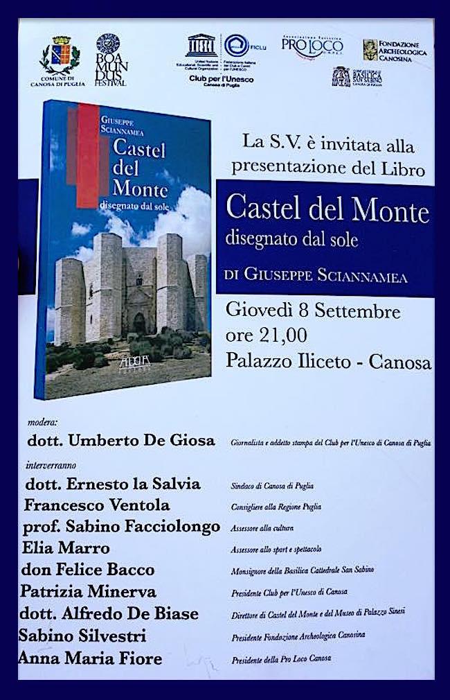 8-9-2016-a-canosa-di-puglia-presentazione-del-libro-castel-del-monte-di-giuseppe-sciannammea-www-lavocedelmarinaio-com