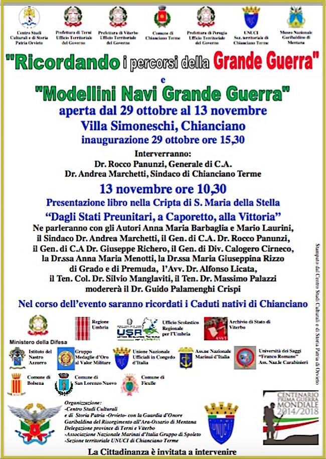 29-10-2016-a-chianciano-conferenza-e-mostra-ricordando-i-percorsi-della-grande-guerra-e-modellini-navi-grande-guerra-www-lavocedelmarinaio-com
