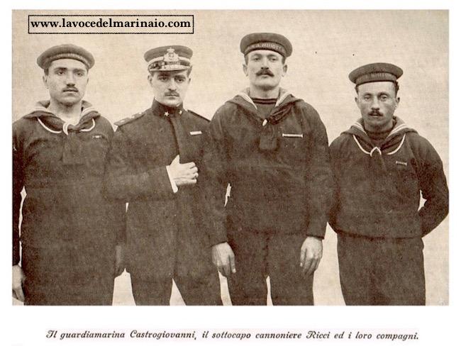 il-guardiamarina-castrogiovanni-il-sottocapo-cannoniere-ricci-ed-i-loro-compagni