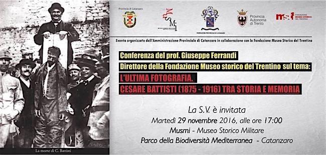 29-11-2016-a-catanzaro-conferenza-su-cesare-battisti-1875-1916-tra-storia-e-memoria-www-lavocedelmarinaio-com