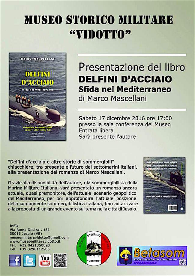 17-12-2016-a-jesolo-presentazione-del-libro-delfini-dacciaio-sfida-nel-mediterraneo-di-marco-mascellani-www-lavocedelmarinaio-com
