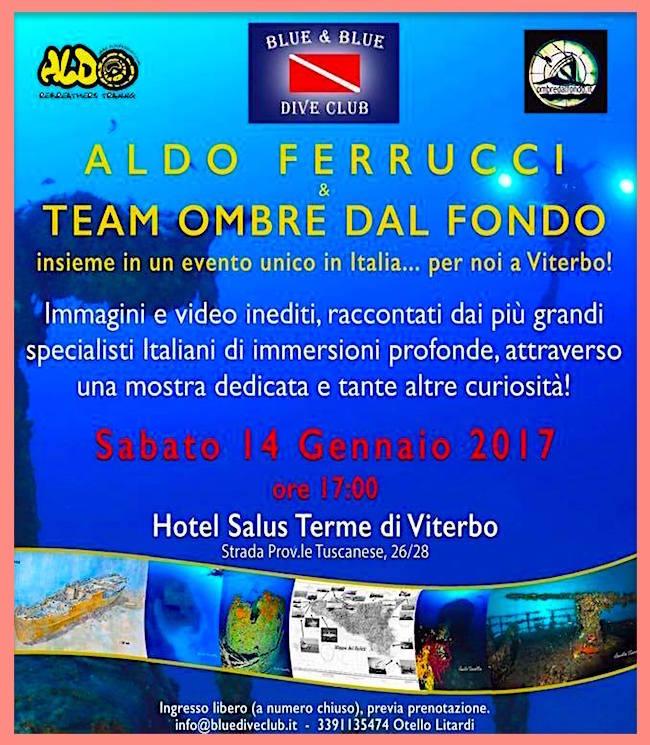 14.1.2017 a Viterbo Immagini dagli abissi - www.lavocedelmarinaio.com