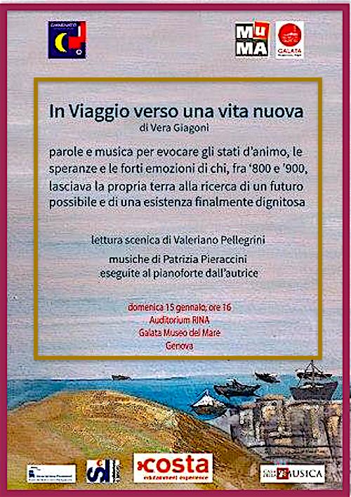 15.1.2017 a Genova In viaggio verso una vita nuova di Vera Giagoni - www.lavocedelmarinaio.com