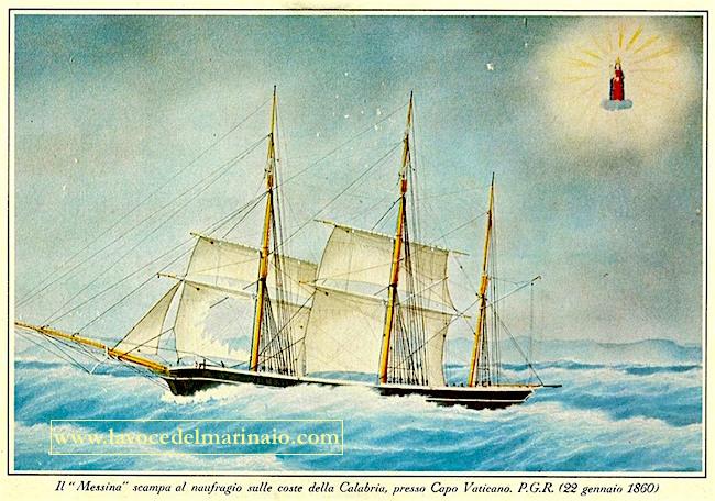 22.1.1860 barca Messina P.G.R. - www.lavocedelmarinaio.com