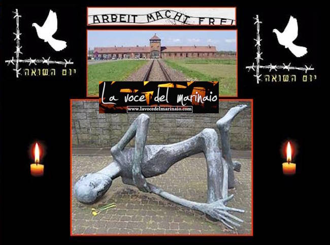 Auschwitz composizione Antonio Cimmino per www.lavocedelmarinaio.com
